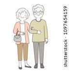 vector illustration character... | Shutterstock .eps vector #1097654159
