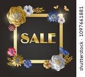 sale banner template for...   Shutterstock .eps vector #1097661881