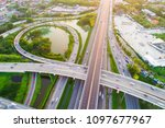 intersection infinity sign... | Shutterstock . vector #1097677967