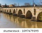 historic brigde puente de... | Shutterstock . vector #1097679395