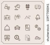 modern  simple vector icon set...   Shutterstock .eps vector #1097700041