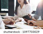 close up businessman and...   Shutterstock . vector #1097703029