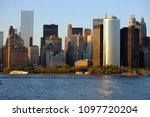view of manhattan from the... | Shutterstock . vector #1097720204
