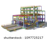 3d rendering of a model of a... | Shutterstock . vector #1097725217