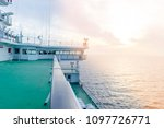 cruise ship white cabin with... | Shutterstock . vector #1097726771