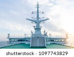 cruise ship white cabin with... | Shutterstock . vector #1097743829