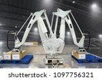 controller of industrial... | Shutterstock . vector #1097756321