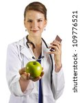 Nutritionist - stock photo