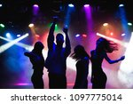 nightlife and disco concept.... | Shutterstock . vector #1097775014
