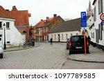 bruges  belgium 18 february... | Shutterstock . vector #1097789585