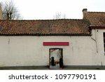 bruges  belgium 18 february... | Shutterstock . vector #1097790191