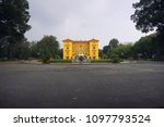 the presidential palace of... | Shutterstock . vector #1097793524