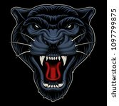 vector illustration of panther. ... | Shutterstock .eps vector #1097799875