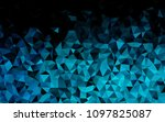 light blue vector polygonal... | Shutterstock .eps vector #1097825087