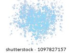 light blue vector background... | Shutterstock .eps vector #1097827157