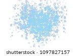 light blue vector background... | Shutterstock .eps vector #1097827157