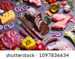 food for every taste | Shutterstock . vector #1097836634