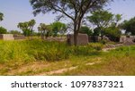 Small photo of Panoramic view to Bkonni village of Hausa people near Tahoua, Niger