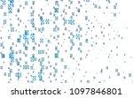 light blue vector of small... | Shutterstock .eps vector #1097846801