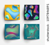 set of abstract design... | Shutterstock .eps vector #1097846891
