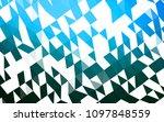 light blue vector triangle... | Shutterstock .eps vector #1097848559