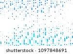 light blue vector blurry... | Shutterstock .eps vector #1097848691