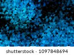 dark blue vector low poly... | Shutterstock .eps vector #1097848694