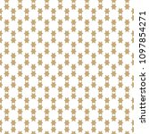 simple geometric seamless... | Shutterstock .eps vector #1097854271