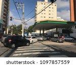s o paulo  brazil   may 24th... | Shutterstock . vector #1097857559