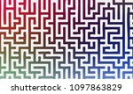 abstract background with... | Shutterstock .eps vector #1097863829