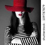 Beautiful Fashion Brunette...