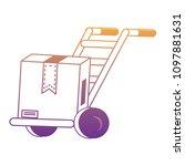 handcart icon image | Shutterstock .eps vector #1097881631