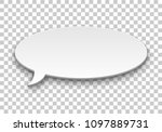quote balloon volume oval... | Shutterstock .eps vector #1097889731