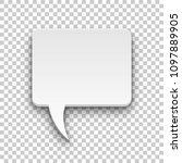 comics bubble volume square... | Shutterstock .eps vector #1097889905