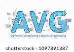 general data protection...   Shutterstock .eps vector #1097891387