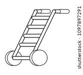 handcart icon image | Shutterstock .eps vector #1097897291