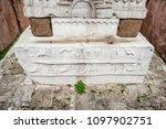 close detailed view of obelisk... | Shutterstock . vector #1097902751