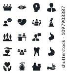 set of vector isolated black... | Shutterstock .eps vector #1097903387