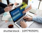 seo and web optimization concept | Shutterstock . vector #1097905091