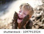 A Cute Little Boy Child Is...