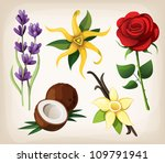 a collection of colorful vector ... | Shutterstock .eps vector #109791941