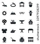set of vector isolated black... | Shutterstock .eps vector #1097928299
