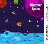 vector banner background with... | Shutterstock .eps vector #1097932274