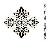 vintage baroque victorian frame ... | Shutterstock .eps vector #1097950721