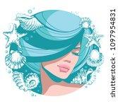 vector illustration young... | Shutterstock .eps vector #1097954831