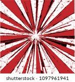 abstract geometrical burst... | Shutterstock .eps vector #1097961941