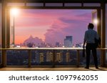 concept vision  young... | Shutterstock . vector #1097962055