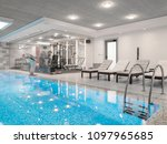 apartment interior design   Shutterstock . vector #1097965685