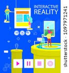 interactive reality poster of...