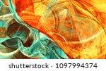 sunlight. bright dynamic... | Shutterstock . vector #1097994374